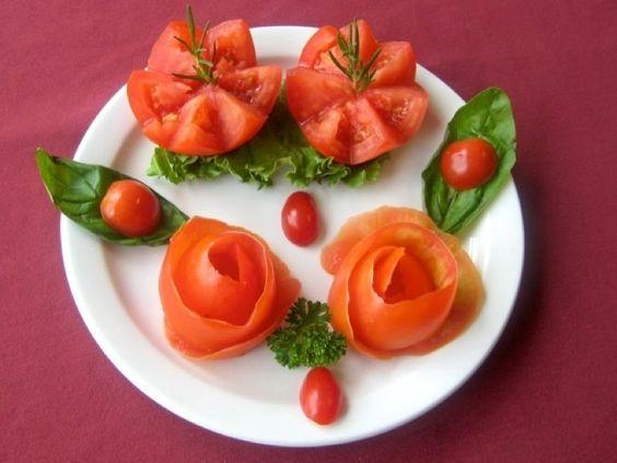 Simple Garnishing Food Presentation Ideas