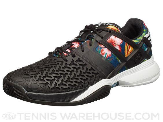 adidas adizero Y-3 Feather III Black/White Men's Shoe | Tennis ...