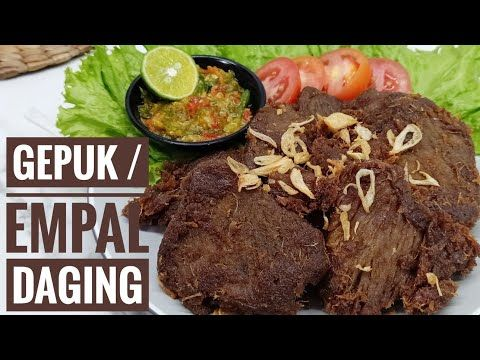 Resep Gepuk Empal Daging Sapi Youtube In 2020 Taiwanese Food Food Cooking