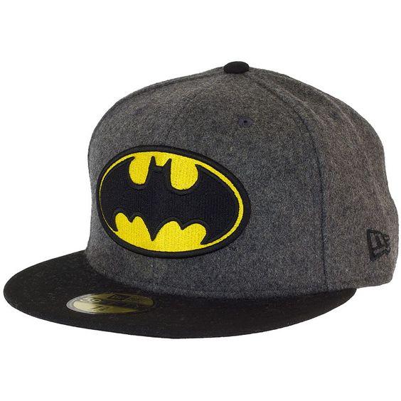 New Era Hero Melton Batman Cap dunkelgrau ★★★★★