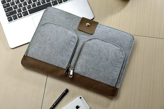 "Front Pockets 13"" Macbook Pro Sleeve , 13"" Macbook Air Sleeve , 13"" Macbook Pro Retina Sleeve , Macbook Air 13 Case , Macbook 13 sleeve  384"