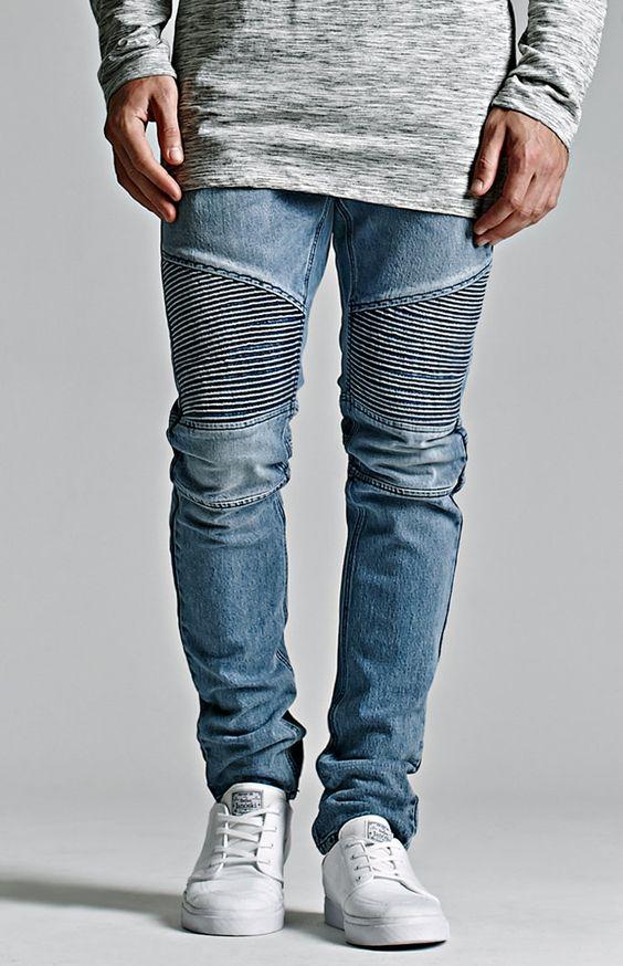 Bullhead Denim Co. Medium Moto Stacked Skinny Jeans $64.95 | My ...