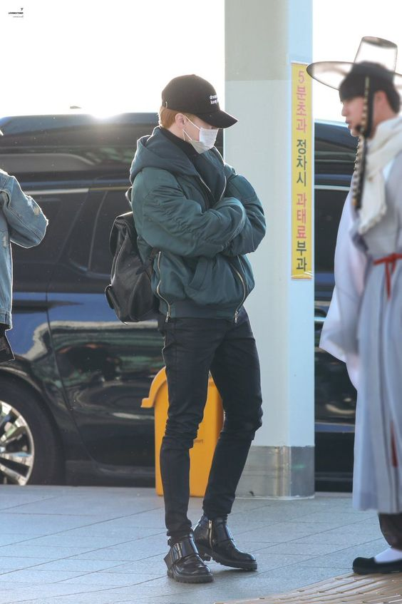 #BTS (#Jimin) Airport Style