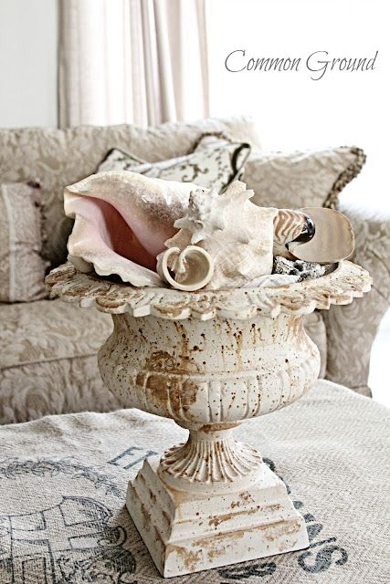 Common Ground: Shells and more, decor...