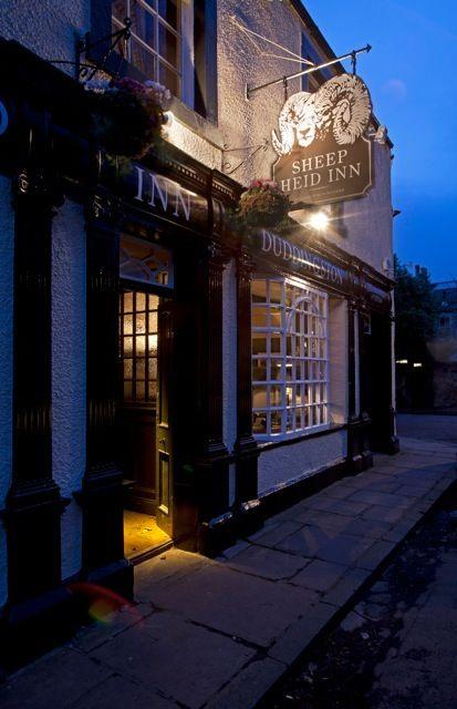 Sheep Heid Inn Edinburgh. Est 1360 A firm favourite among past monarchs and poets