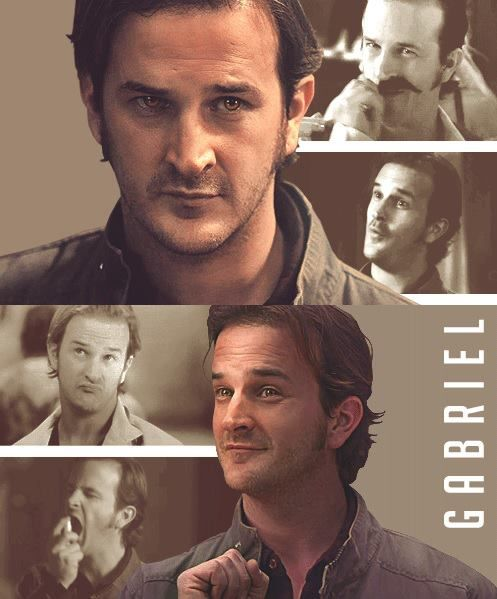 I'm Gabriel. An Archangel and the messenger of my father. I love candy and the colour gold. Introduce?