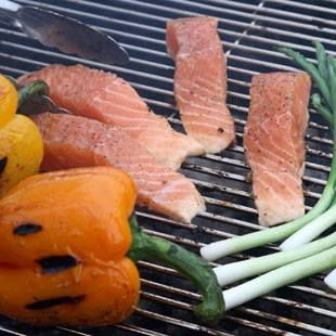 To reduce flare-ups, select lean cuts of meat, trim excess fat and remove poultry skin. Also, keep a squirt bottle of water near the grill to quickly douse any unexpected flare-ups. #GrillingTips #grill #barbecue