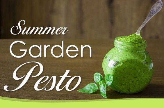 Summer Garden Pesto