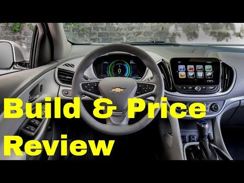 The 2019 Chevrolet Volt Premier Is One Of The Better Plug In
