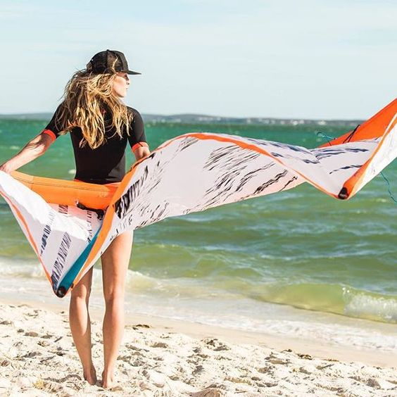 Make sure you get on board today!! Check our full range of wetsuits and other Rider Developed Products online // rdp.brunotti.com #brunottiRDP #getonboard #allboardsports #beachbabe #wetsuit #kite