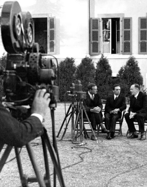 Dr.Joseph Goebbels in Geneva, September 1933. (via indesirableprincesse)