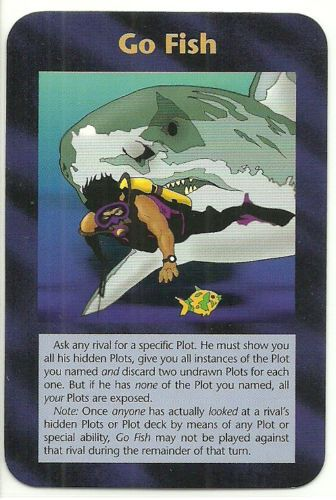 Go fish illuminati ccg assassins plot card 1995 for Go fish cards