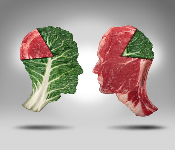 In meat-loving America, vegetarians are still trying to find their footing on the kitchen table. They're usually viewed as the all-stars of healt...