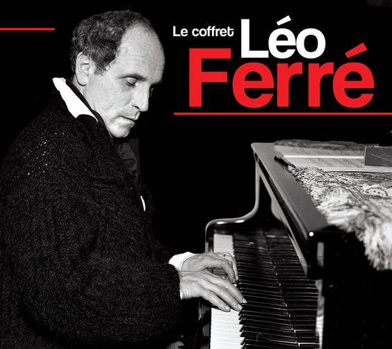 Léo Ferré:une admiration :textes -musique