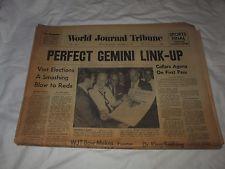 WORLD JOURNAL TRIBUNE NEWSPAPER-NEW YORK CITY-SEPT 12,1966-FIRST ISSUE-VOL 1 No1