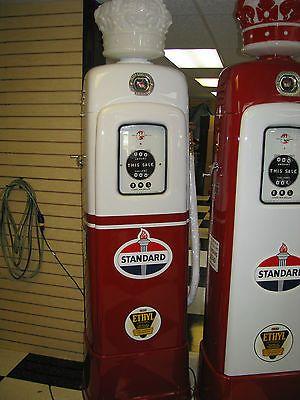 vintage standard gas pumps