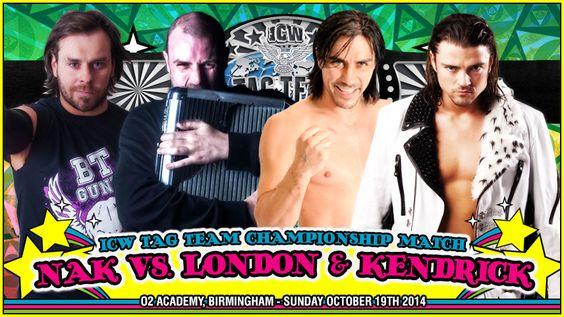 ICW: Magical Mystery - ICW Tag-Team Championship - NAK vs. Paul London &…