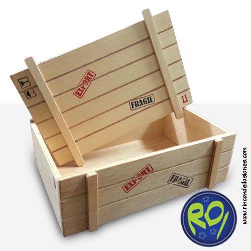 Florida and sons on pinterest - Cajas de madera para regalo ...