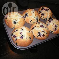 Foto recept: Bosbessen muffins
