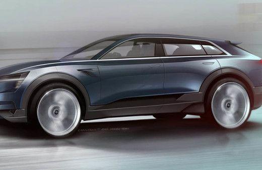 2018 Audi e-tron quattro Concept Unveiled Ahead of Frankfurt