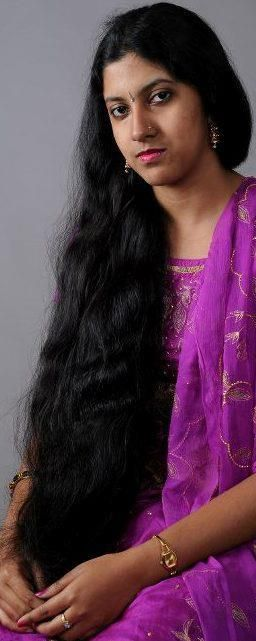 Long hair on indian womens pussy