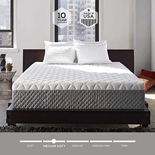 Sleep Innovations Alden 14 Inch Memory Foam Mattress Bed In A Box