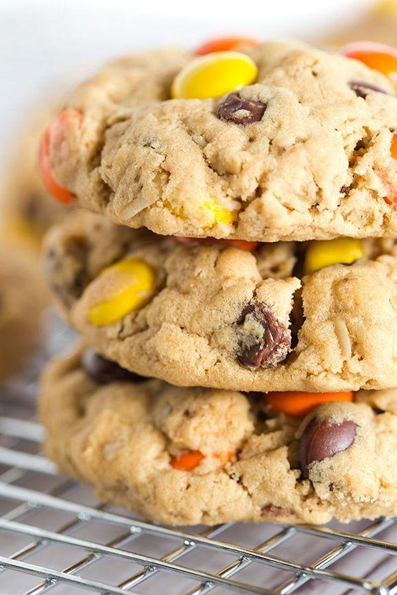 Peanut Butter Lover's Monster Cookies