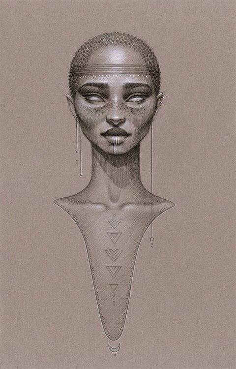 Pintura Y Fotografia Trascendecia Ancestral Afrocentric Art Afro Art African Art