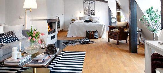 Svéd stílusú lakás