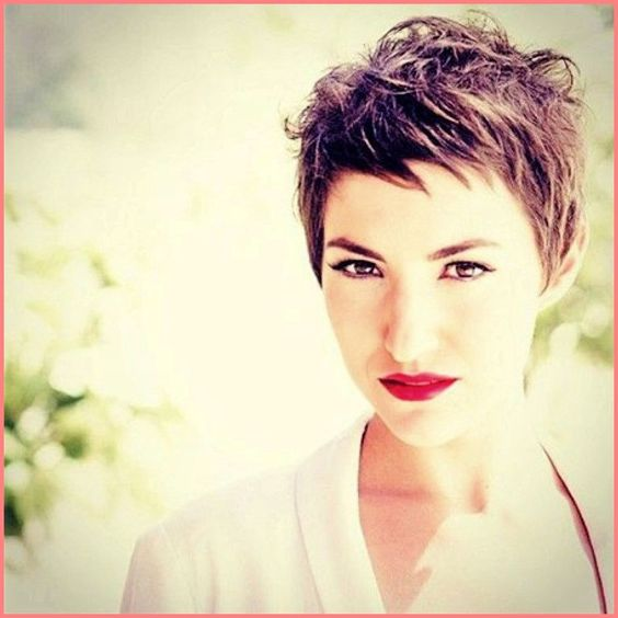 Best Cool Messy Pixie Cut | New Awomenhairstylescuts.com