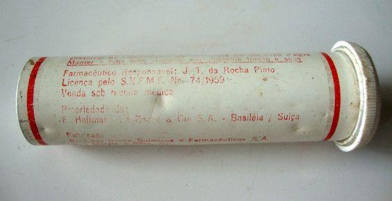 redoxon embalagem vazia antiga laboratório roche