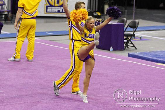 LSU vs Georgia Gymnastics 2013 | LSU defeated Georgia 197.05… | Flickr