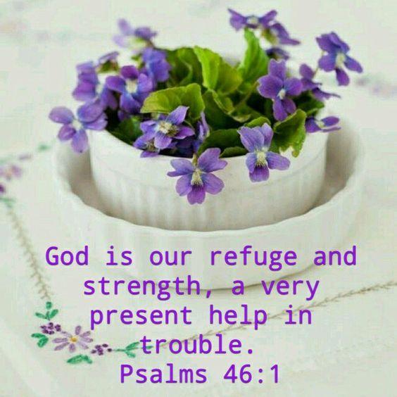Psalm 46:1 KJV: