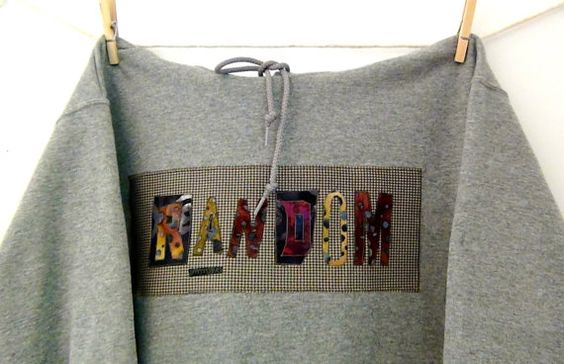 Random Unisex Hooded Sweatshirt by GoHeyJudy by GoHeyJudy on Etsy, $62.00