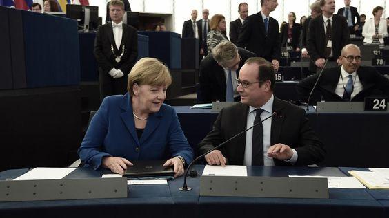 Europa was traag om te onderkennen dat de tragedies in Noord-Afrika en het Midden-Oosten ook een effect hadden op Europa. Hollande pleitte voor een gemeenschappelijk asielbeleid voor heel Europa en het handhaven van het Verdrag van Schengen. Dit om de eenheid in Europa te bewaren. Om het recht van het vrije verkeer van mensen, goederen en diensten in de Schengen-regio in twijfel te trekken, en weer nationale grenzen op te trekken, zou een ''tragische vergissing'' zijn, zei Hollande.