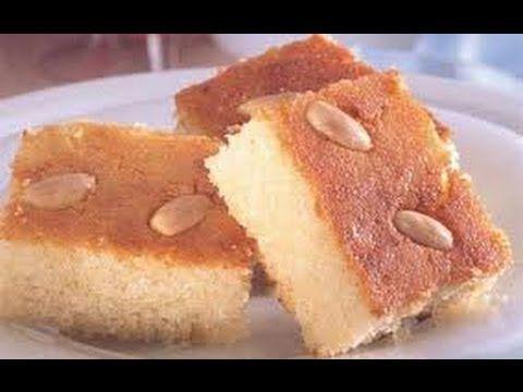 How To Make Namora Arabic طريقة عمل بسبوسة جوز الهند او النمورة Food Cooking Recipes Desserts
