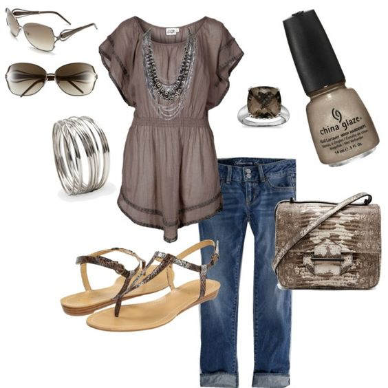 taupe, created by tltrover on Polyvore