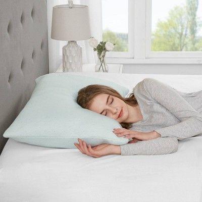 King Rayon From Bamboo Memory Foam Pillow Foam Pillows Memory