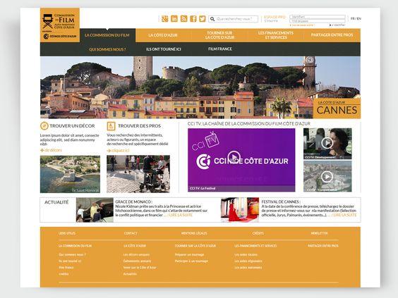 Site Internet Commission du Film Nice Côte d'Azur : www.filmcotedazur.fr