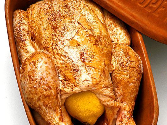 Kyckling i lergryta