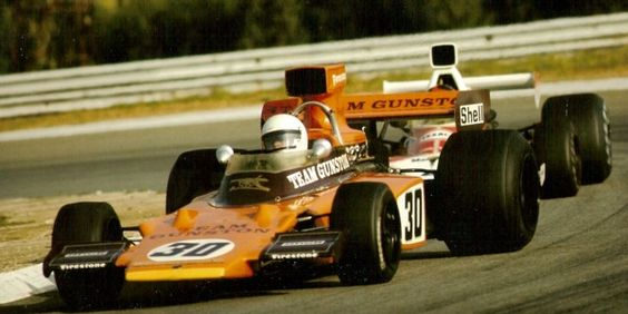 1974 Paddy Driver, Lotus 72E, Ford