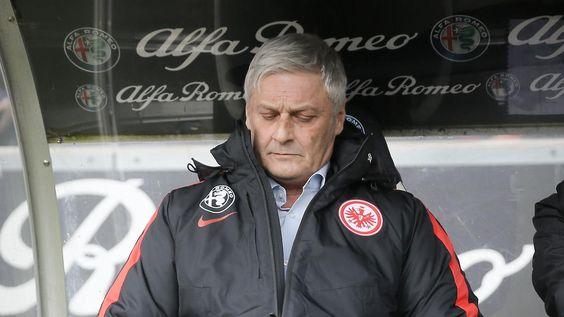 Der Abstieg droht: Eintracht Frankfurt feuert Trainer Veh
