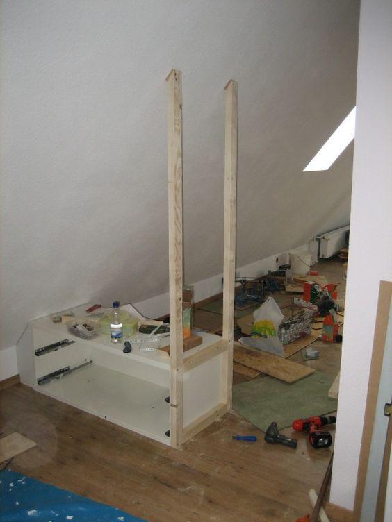 wohnzimmer 'dachboden vorher - nachher' - unser zuhause, Hause deko