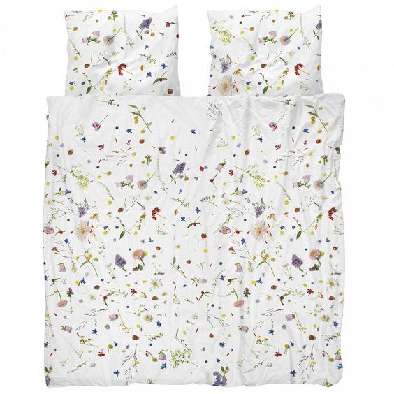 Flower Fields duvet cover - Snurk Beddengoed