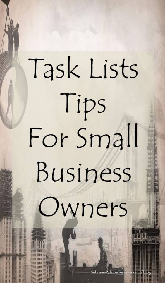 Task lists tips for small business owners help you stay focused and be more productive. Check out the tips here and share with others.