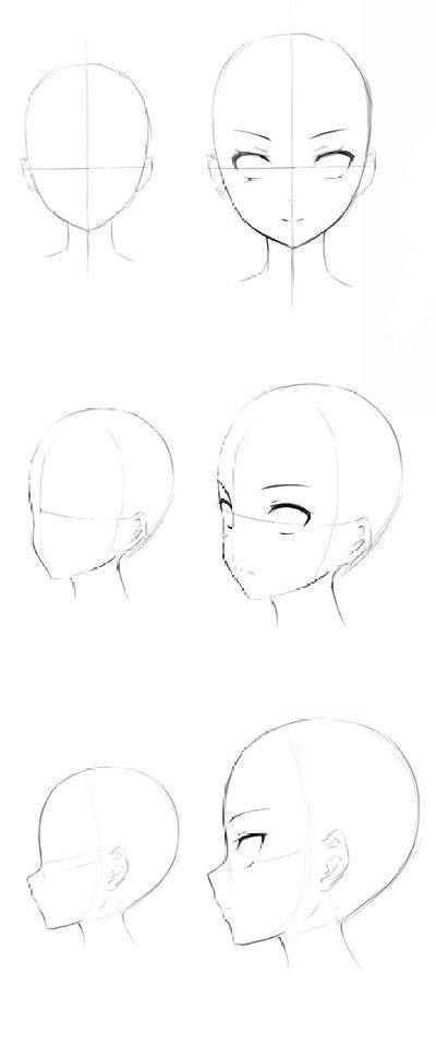 Ych Side Styles Face In 2020 Anime Drawings Tutorials Art Drawings Drawing Heads