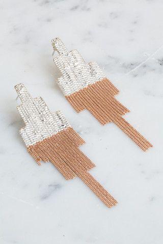 HannahK Pixel Earrings