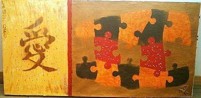 Arte Moderna e Contemporânea: Amor/Puzzle