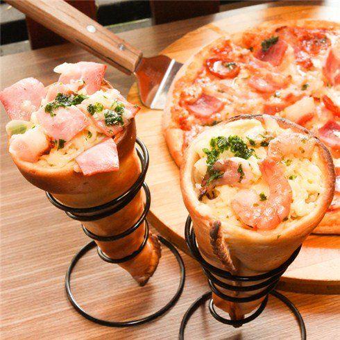 Combo pizza   2 pizza ốc quế đúng chất Ý tại Pizza Rex nhommua