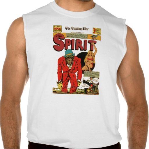 The Spirit: 1940 Sunday Star Comic Sleeveless Tees Tank Tops